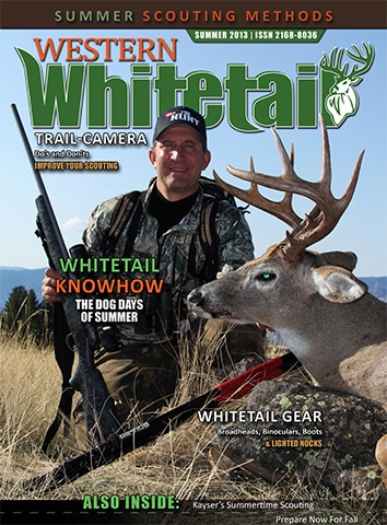 Western Whitetail Magazine, Summer 2013